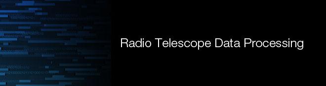 Radio Telescope Data Processing